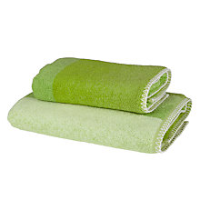 Buy Designers Guild Saraille Towels, Lime Green Online at johnlewis.com