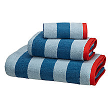 Buy little home at John Lewis Boats & The Blue Sea Bold Stripe Towels Online at johnlewis.com