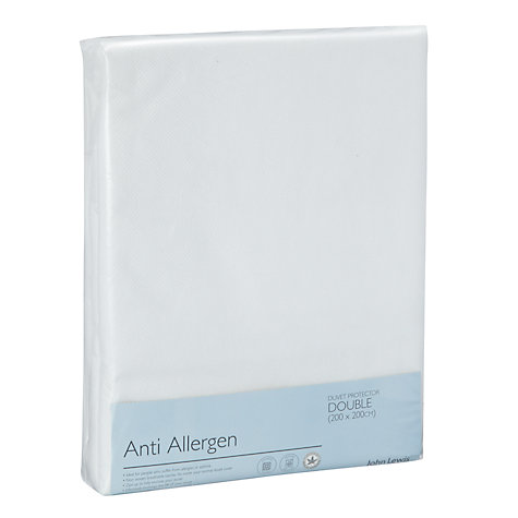 Buy John Lewis New Anti Allergen Enclosed Duvet Liner Online at johnlewis.com
