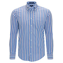 Buy Gant Pinpoint Stripe Oxford Long Sleeve Shirt Online at johnlewis.com