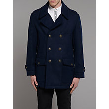 Buy Merc Gizzo Wool Peacoat Online at johnlewis.com