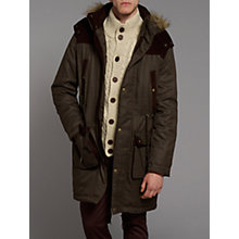 Buy Merc Schultz Check Fishtail Parka Jacket Online at johnlewis.com