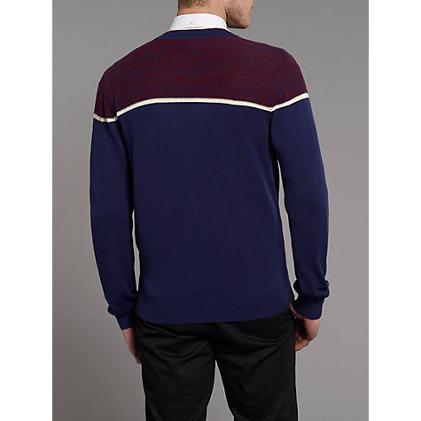 Buy Merc Krakow Stripe Cotton Cardigan Online at johnlewis.com