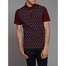 Buy Merc Nifty Argyle Print Polo Shirt Online at johnlewis.com