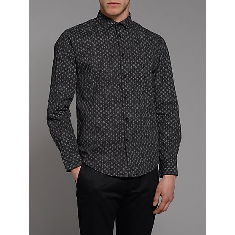Buy Merc Lanksy Paisley Long Sleeve Shirt Online at johnlewis.com