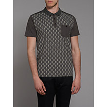 Buy Merc Banion Paisley Print Polo Shirt Online at johnlewis.com