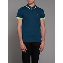 Buy Merc Caper Contrast Tipped Polo Shirt Online at johnlewis.com