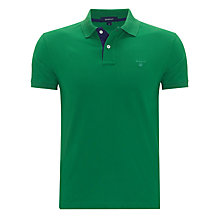 Buy Gant Contrast Collar Rugger Polo Shirt Online at johnlewis.com