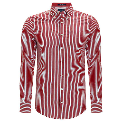Buy Gant The Breton Stripe Long Sleeve Shirt Online at johnlewis.com