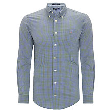 Buy Gant Cooper N.Y. Cooper Poplin Check Shirt Online at johnlewis.com