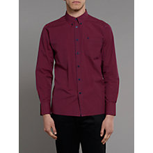 Buy Merc Japster Gingham Shirt, Red/Blue Online at johnlewis.com