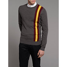 Buy Merc Zappi Stripe Detail Crew Neck Jumper Online at johnlewis.com