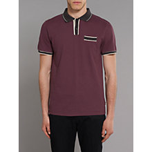 Buy Merc Nickel Contrast Detail Polo Shirt Online at johnlewis.com