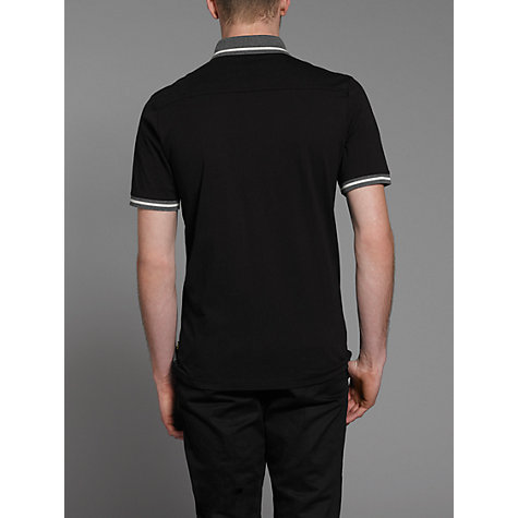Buy Merc Ravello Heringbone Short Sleeve Polo Shirt Online at johnlewis.com