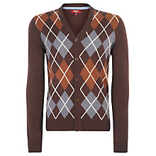 Buy Merc Cadena Argyle Knit Cardigan Online at johnlewis.com