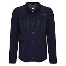 Buy Diesel J-Brun Quilted Jacket, Navy Online at johnlewis.com