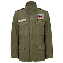 Buy Barbour Steve McQueen™ Collection Thunder Jacket, Olive Online at johnlewis.com