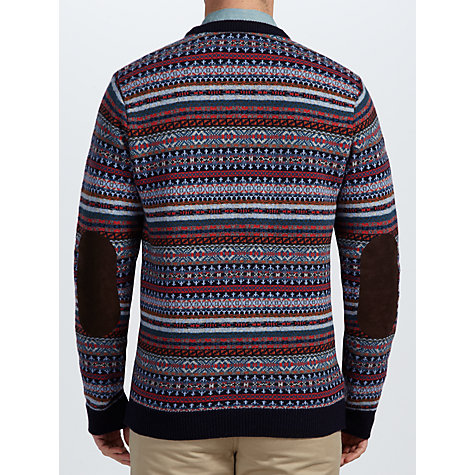 Buy Barbour Martingale Crew Neck Knit Jumper, Blue Online at johnlewis.com