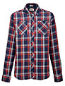 Hilfiger Denim Bryan Long Sleeve Check Shirt, Blue