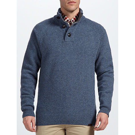 Buy Barbour Chelsea Button Neck Jumper Online at johnlewis.com
