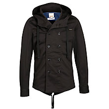 Buy Diesel J-Tessen Hooded Jacket, Dark Charcoal Online at johnlewis.com