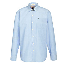 Buy Hilfiger Denim Basil Long Sleeve Shirt, Blue Online at johnlewis.com