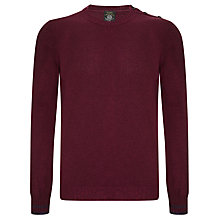Buy Diesel K-Corvo Buttoned Shoulder Jumper Online at johnlewis.com