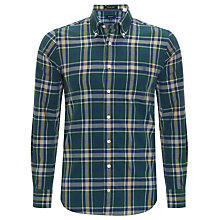 Buy Gant Columbus Check Long Sleeve Shirt Online at johnlewis.com