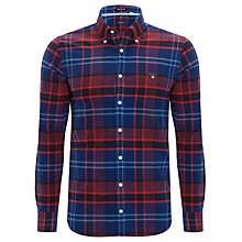 Buy Gant Cooper Check Shirt, Indigo Online at johnlewis.com