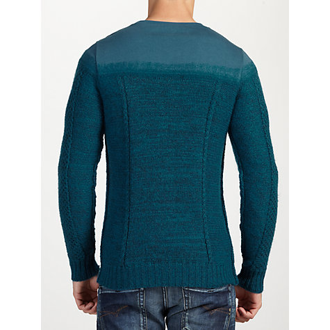 Buy Diesel K-Boote Alpaca Mohair Blend Jumper Online at johnlewis.com