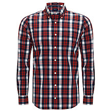 Buy Gant Bowery Poplin Check Shirt Online at johnlewis.com