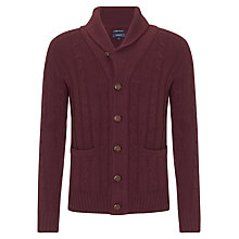 Buy Gant N.Y. Lambswool Shawl Neck Cardigan Online at johnlewis.com