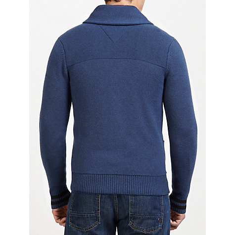 Buy Tommy Hilfiger Terrence Knit, Navy Online at johnlewis.com
