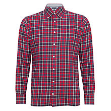Buy Tommy Hilfiger Felix Check Long Sleeve Shirt, Red Online at johnlewis.com