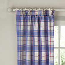 Buy little Home at John Lewis Marlow Check Pencil Pleat Curtains Online at johnlewis.com