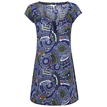 Buy White Stuff Parasol Print Top, Dark Komono Online at johnlewis.com