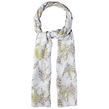 Buy White Stuff Birds of a Feather Scarf, Grey Online at johnlewis.com