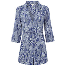 Buy White Stuff Chintz Tunic Top, Komono Purple Online at johnlewis.com
