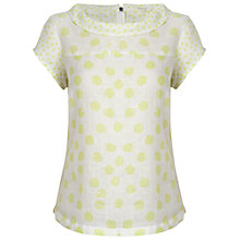 Buy White Stuff Moloko Top, Zesty Lime Online at johnlewis.com