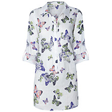 Buy White Stuff Flutterby Kaftan Top, Ice Cream Online at johnlewis.com