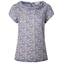 Buy White Stuff Palace Shell Top, Komono Purple Online at johnlewis.com