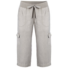 Buy White Stuff Chattering Cropped Trousers, Stone Online at johnlewis.com