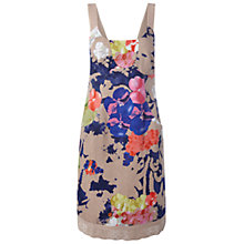 Buy White Stuff Turmeric Dress, Footprint Grey Online at johnlewis.com