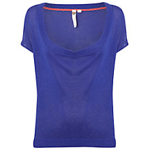 Buy White Stuff Keiko Knitted Top, Komono Purple Online at johnlewis.com