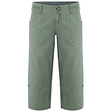 Buy White Stuff Summers Day Cropped Trousers, Bonsai Bark Online at johnlewis.com