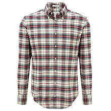 Buy Gant Yale Archive Twill Check Long Sleeve Shirt Online at johnlewis.com