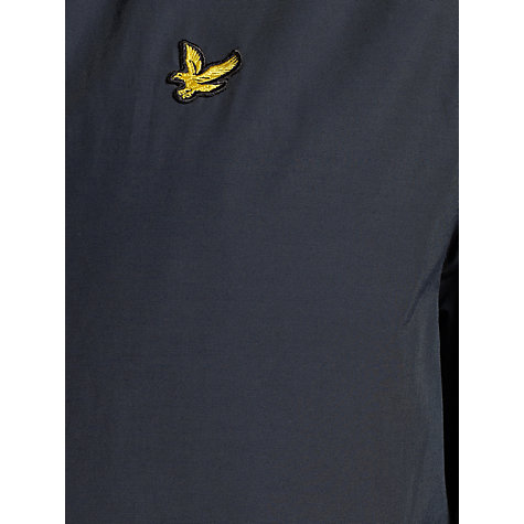 Buy Lyle & Scott Shell Hood Jacket, Navy Online at johnlewis.com