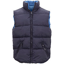 Buy Selected Homme Manley Gilet, Navy Online at johnlewis.com