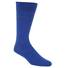Buy Hugo Boss Plain Logo Detail Socks Online at johnlewis.com