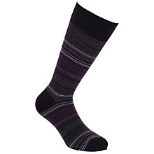 Buy Hugo Boss Thin Striped Socks Online at johnlewis.com